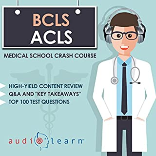 Basic and Advanced Cardiac Life Support     Medical School Crash Course              By:                                                                                                                                 AudioLearn Medical Content Team                               Narrated by:                                                                                                                                 Kevin Charles                      Length: 5 hrs and 43 mins     Not rated yet     Overall 0.0