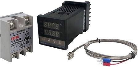 MeiZi Digitale PID temperatuurregelaar Thermostaat REX-C100 type K thermokoppel SSR Relais Fit For Controle Heater Tempera...