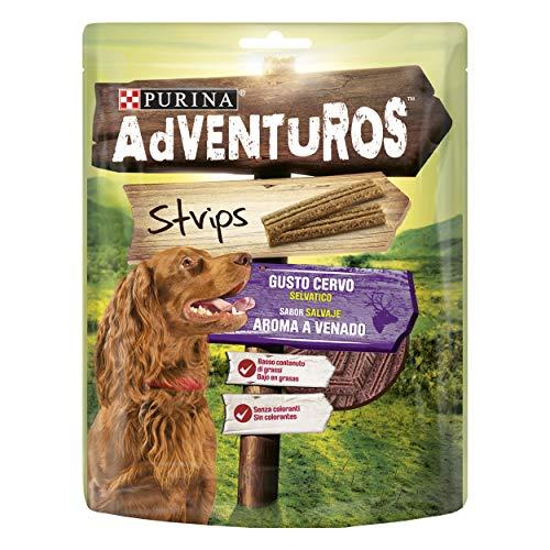 Purina Adventuros Strips golosinas y chuches naturales para perros 6 x 90 g