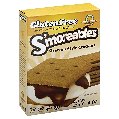 Kinnikinnick S'moreables Graham Style Crackers -- 8 oz Each / Pack of 2