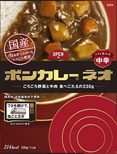 『大塚食品 ボンカレーネオ コクと旨みのオリジナル 230g×3個』のトップ画像