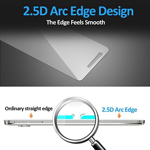 CRXOOX Panzerglas Schutzfolie für Huawei Honor 5X, [2 Stück] Transparent und Ultra-Clear Hartglas Displayschutzfolie, 9H Härte - 3