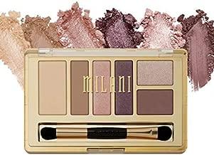 Milani Everyday Eyes Eyeshadow Palette - Plum Basics (0.21 Ounce) 6 Cruelty-Free Matte or Metallic Eyeshadow Colors to Contour & Highlight