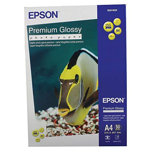 Epson Premium Carta Fotografica, A4, 255 g/m2, 50 Fogli, 1 pacco