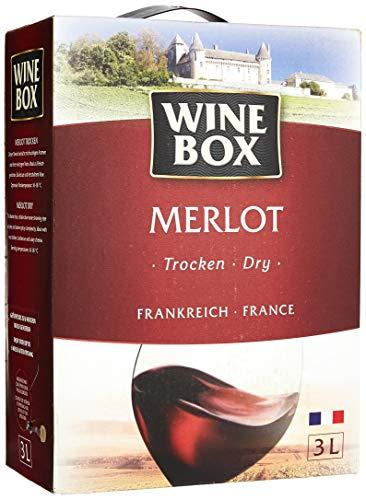 Wine Box Merlot IGP Pays d\'Oc trocken Bag-in-Box (1 x 3 l)