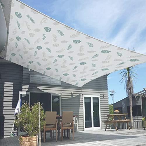 Los 5.5x5.6m Toldo de Lluvia,PéRgola de ProteccióN Solar,Bloqueo UV Carpa para Camping,para Exterior JardíN Terraza ReunióN,con Poste de Hierro y Cuerda de Viento,Patterned