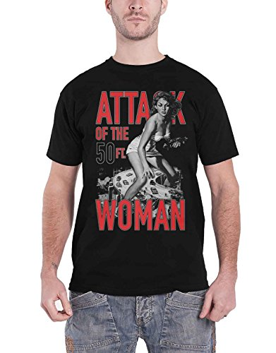Attack Of The 50Ft Woman T Shirt 新しい 公式 Vintage Horror メンズ Size XL