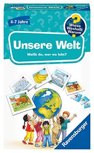 Ravensburger Mitbringspiele 20640 - Wieso? Weshalb? Warum? Kinderspiel Unsere Welt, von 4 bis 7 Jahren