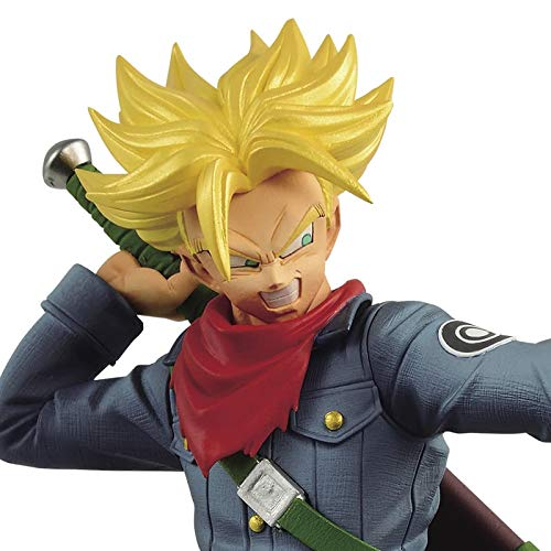 Dragon Ball Super- Trunks Future Super Saiyan Chosenshiretsuden II Vol. 2 Banpresto Figure 17 cm