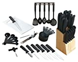Almost Complete Kitchen Essentials Cutlery Tool Set - 41 Pcs