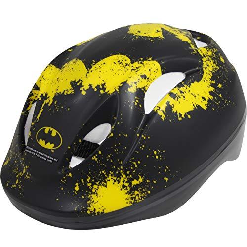 L&E Batman Fahrradhelm Kinder Helm Sicherheitshelm Schutzhelm Kinderhelm Radhelm GS