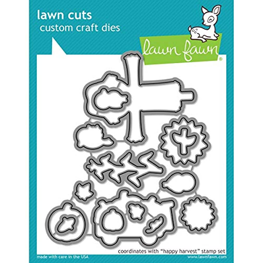 Lawn Cuts Custom Craft Die-happy Harvest