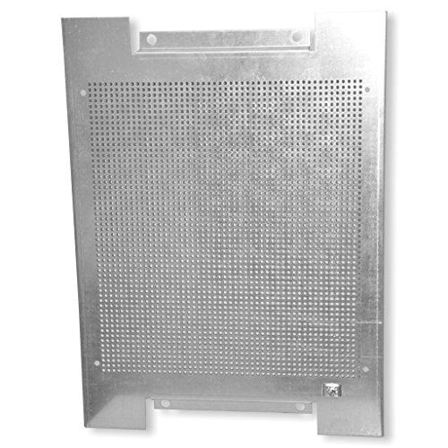 braun teleCom 1, 5mm Lochblech-Montageplatte mit Erdungsanschluss 400x300x18mm
