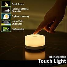 FC-Fancier Dimmable Light,Touch Sensor Bedside Lamp, Kids Children Adult Nightlight,Bedroom Living Room Baby Nursery Night...