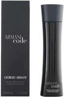 Giorgio Armani After Shave Balm, Code, 3.4 Ounce