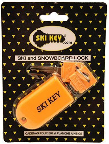 Ski and Snowboard Fat-Ski Lock