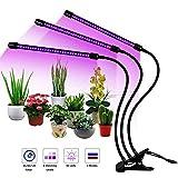 Everwell LED Pflanzenlampe, 27W Pflanzenlicht Pflanzenleuchte mit Timing-Funktion, 3 Modus, 8 Arten...