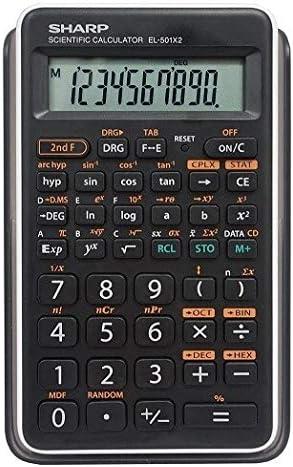 Sharp EL501X2BWH Engineering Scientific Max Omaha Mall 45% OFF Calculator 5 Pack