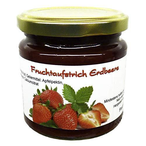 """Xylit Fruchtaufstrich \""""Erdbeere\"""" ohne Zuckerzusatz, nur mit Xylit gesüßt, 70{76734227768422d43f4dd8fff3c6bff456f0922c8f15fff06b85727119769c24} Fruchtanteil (mehr als Marmeladen), Low Carb, 200 g"""