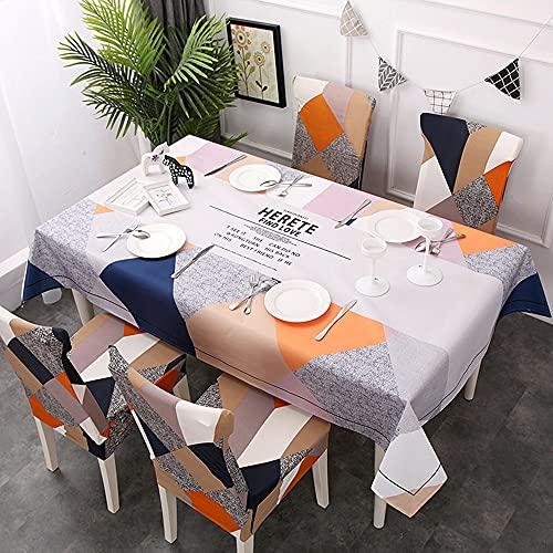 XXDD Mantel Minimalista Moderno para Muebles, Mesa de Comedor a Prueba de Polvo y Lavable para decoración de Restaurante, Mantel, Cubierta de Mesa A5 140x160cm