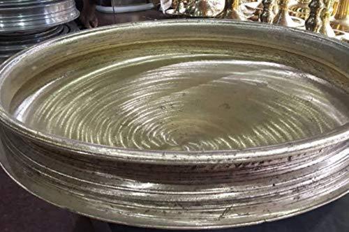 Unpolished Varpu Uruli,Traditional Kerala Healthy Bronze Cooking Utensil Urli, 10 inch unpolished Urli