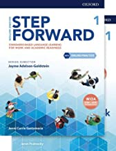 Step Forward Level 1 Student Book and Workbook Pack with Online Practice: Standards-based language learning for work and a...