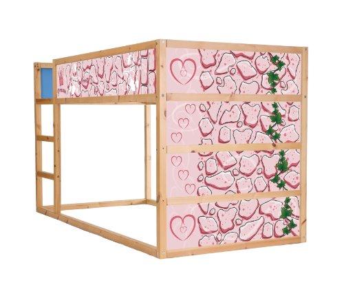 STIKKIPIX Sagovärld möbeldekaler/klistermärken för våningssängen KURA från IKEA – IM17 – möbel ingår ej