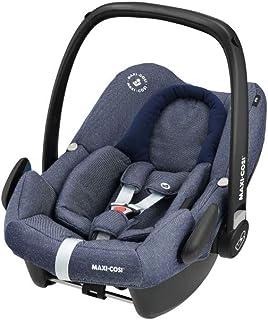Maxi-Cosi Rock Babyschale, sicherer i-Size Kindersitz, Gruppe 0 0-13 kg, nutzbar ab der Geburt bis 12 Monate, sparkling blue