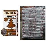 1 Palette Rindenmulch mit 57 Sack je 40 Liter = 2280 Liter -