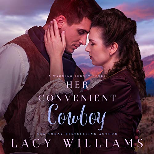 Her Convenient Cowboy     Wyoming Legacy              By:                                                                                                                                 Lacy Williams                               Narrated by:                                                                                                                                 Laural Merlington                      Length: 7 hrs and 21 mins     39 ratings     Overall 4.6