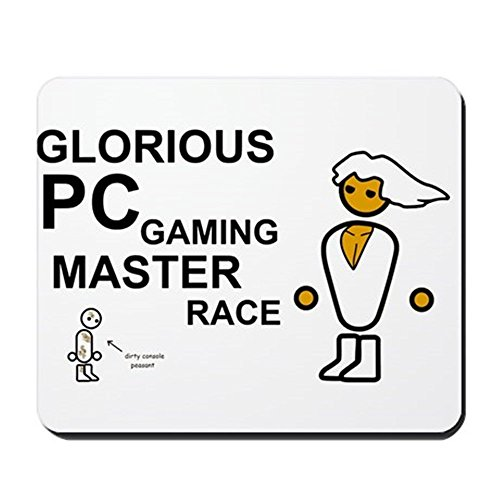 - Glorious PC Gaming Master Race - Non-Slip Rubber Mousepad, Gaming Mouse Pad