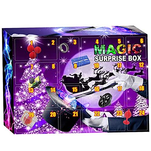 yinghuochong huochong Halloween Decor Pop Calendario dell'Avvento Toy Pack 24 giorni Halloween Countdown Sensory Magic Toys Set semplice scatola regalo sorpresa bambini favore