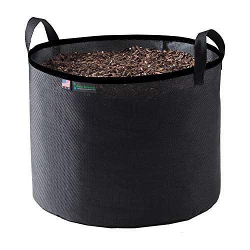 Rain Science Grow Bag (25 Gallon, Black/Black)