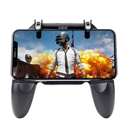 SUNSEATON PUBG Mobile Game Controller,Gamepad,Spielekonsole Gaming Trigger, Smartphone Shooter, Sensitive Controller Joysticks PUBG,Controller für 4,7-6,5 Zoll iPhone/Android Smartphones(Schwarz)