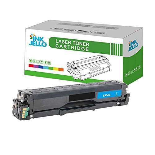 InkJello kompatibel Toner Patrone Ersatz für Samsung CLP-415N CLP-415NW CLX-4195FN CLX-4195FW Xpress SL-C1810W Xpress SL-C1860FW CLT-C504S (Cyan)