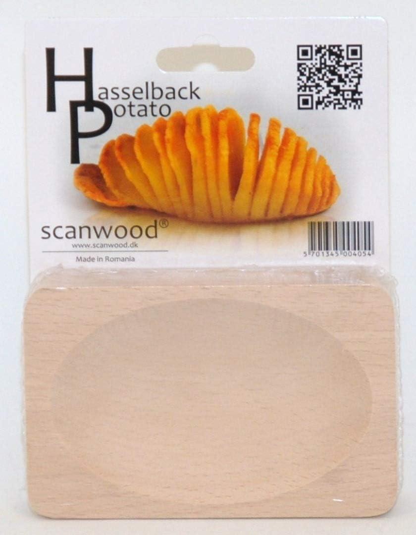 Scanwood Beechwood Swedish Max 71% OFF Hasselback Potato Ranking TOP4 Board Cutting
