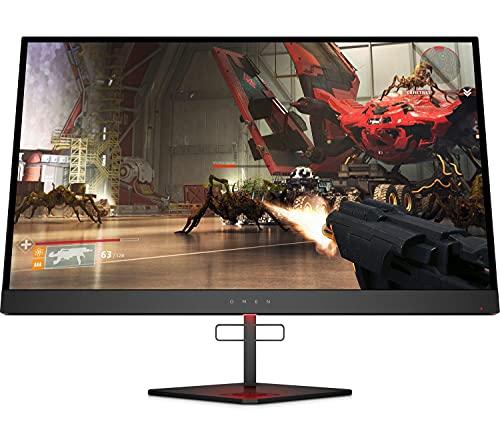 HP OMEN X 27 – Monitor Gaming de 27'Quad HD (2560 x 1440 a 240Hz, TN, 1ms, HDMI, Antirreflejo, Iluminación Ambiental, Altura e Inclinación Ajustables) Negro