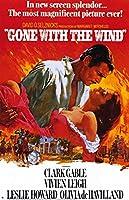 小ポスター「風と共に去りぬ」ヴィヴィアン・リー、クラーク・ゲーブル