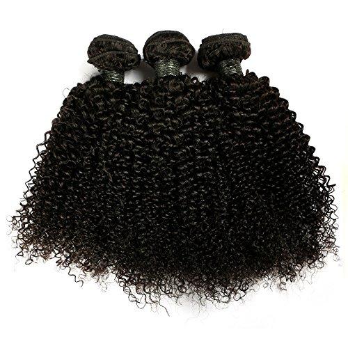 "BLISSHAIR Echthaar 3 Bundles Brasilianische Haare Brazilian Virgin Hair Baby Deep 8"",150g reine lockige Haarverlängerungen Human hair"