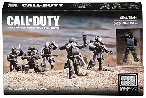Mega Construx Call of Duty Seal Team