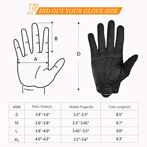 FREETOO Full Finger Workout Gloves