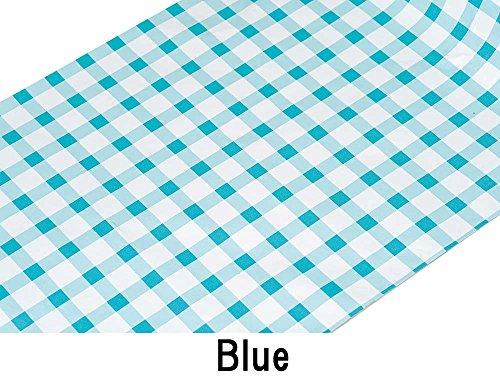 リマーク(Remark)『チェック柄アルミホイル2色組(ブルー・ピンク)』