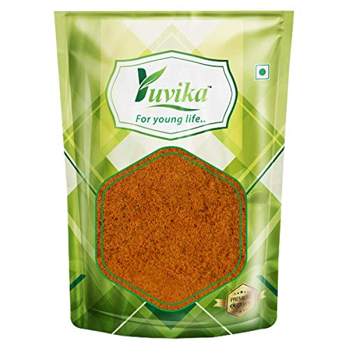 YUVIKA 100% Natural Amba Haldi Powder - Curcuma Aromatica - Wild Turmeric (400 GM)