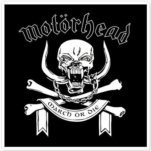 Autoaufkleber und Moto Motörhead Logo 10cm