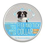 prowithlin Collar Antiparasitario para Perros, 70cm Prevención de Pulgas y Garrapatas Tamaño Ajustable e Impermeable para Mascota Pequeño Mediano Grandes