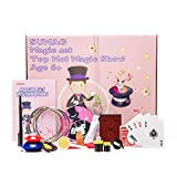 Magic Tricks Set for Kids Age 6,7,8,9,10 Year and up, Magic Kit Includes Easy to Follow Manual & DVD Tutorial