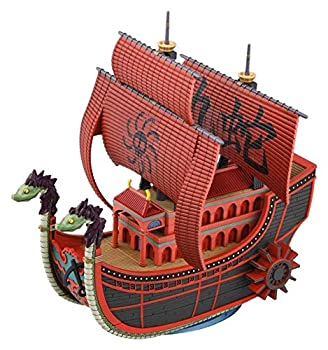 BANDAI SPIRITS The Great Ship  Grand Ship  Collection Kyuhebi Pirate Ship Dress  from TV Animation ONE Piece  Color-Coded pre-Plastic