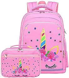 top rated Children's CAMTOP backpack Preschool kindergarten lunch box with bag set Girls' school backpack … 2021