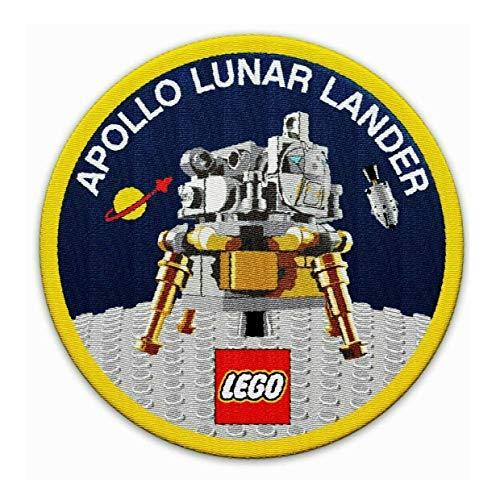 Patch NASA 50 jaar maanlanding Apollo 11 Lunar Lander 10266 Expert Lego
