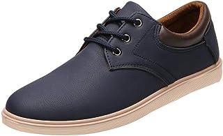 Scarpe Sneakers Tinta Unita Fondo Antiscivolo Scarpe Casual Moda Sneakers Traspiranti Scarpe Uomo